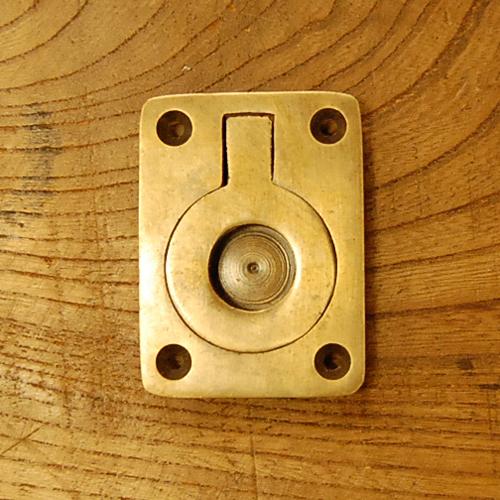 真鍮取手 ブラス Brass 掘り込み取手 プルアップ 金具