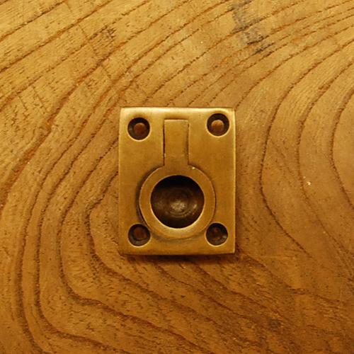 真鍮取手 ブラス Brass プルアップ 掘り込み取手 金具