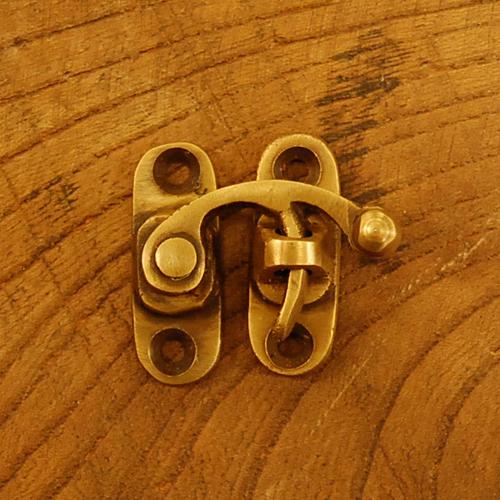 真鍮フック ホック 錠前 ブラス Brass 金具