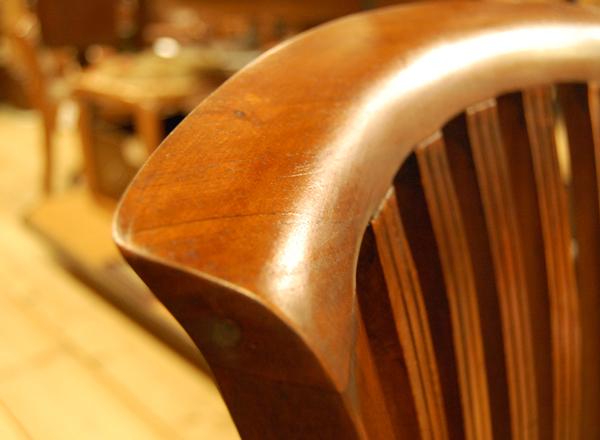 椅子修理 背もたれ リペア 工房 チーク材