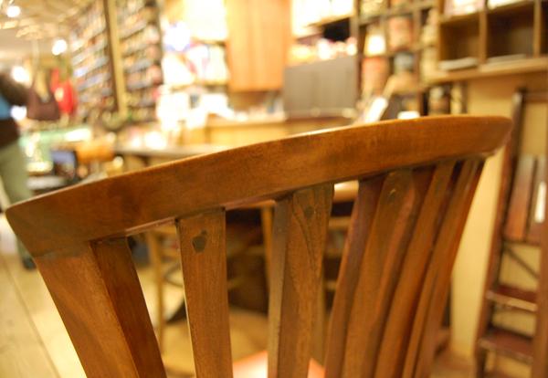 背もたれ 椅子修理 リペア 工房 チーク無垢材