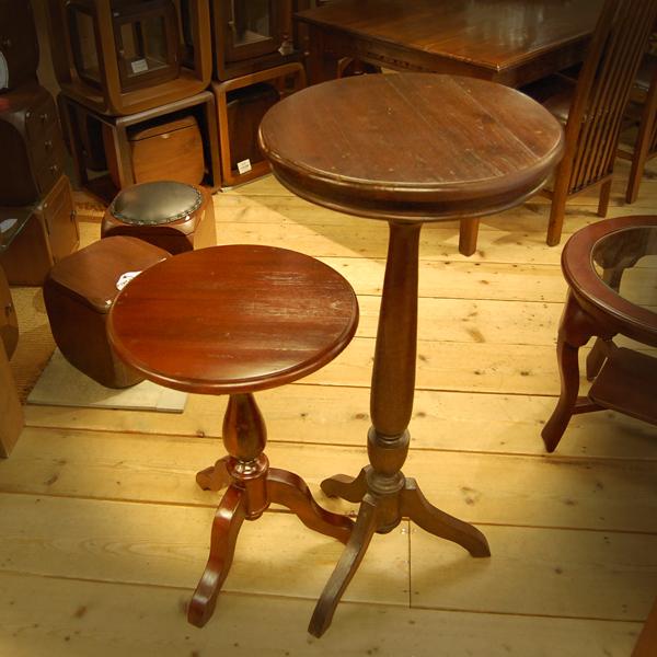 シンプルラウンドテーブル チーク無垢材家具 丸テーブル