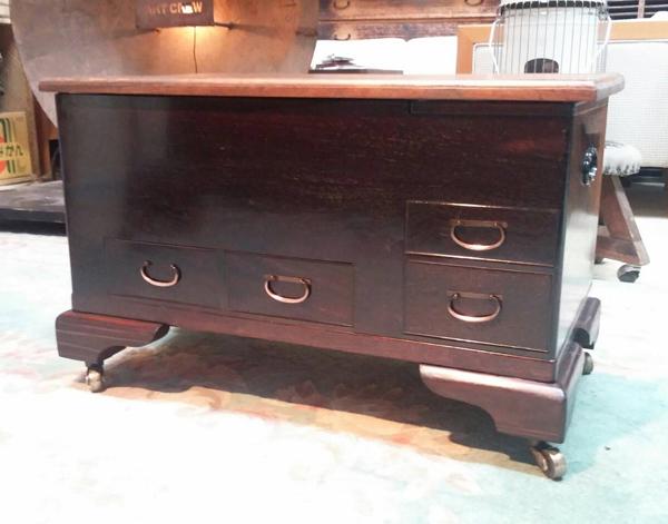 火鉢加工 テーブル 収納ボックス アレンジ家具 加工