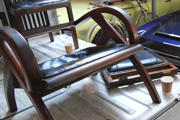 BemoChair 座面修理 チーク無垢材椅子 張替
