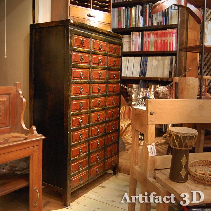 中国薬箪笥 アンティークスタイル