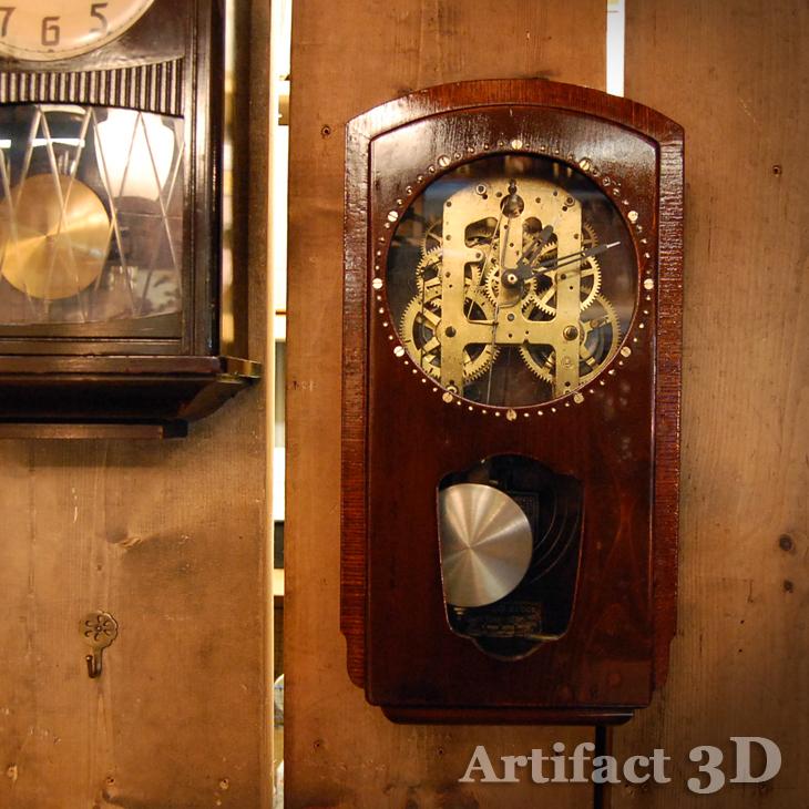 振り子時計 改造 オリジナル