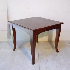 ダイニングテーブル チーク無垢材 90cm