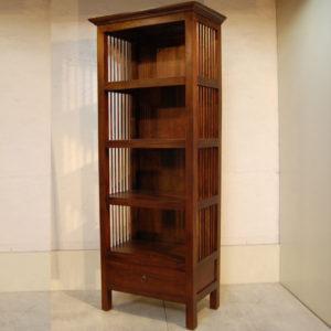 チーク無垢材 本棚 ブックケース Bookcase