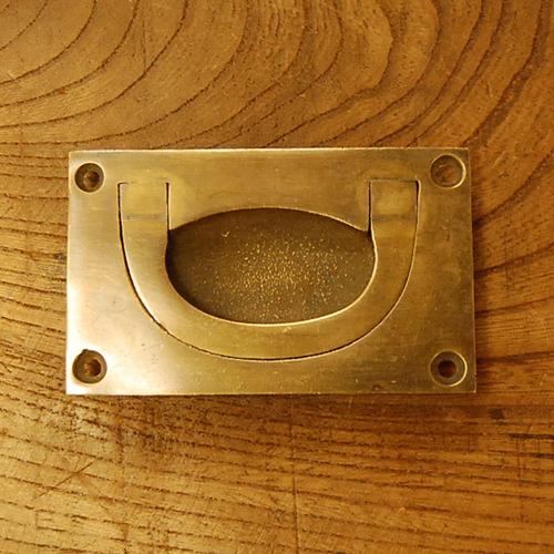 真鍮取手 ブラス Brass 掘り込み取手 金具 引手