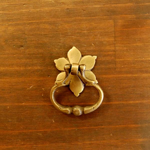 真鍮取手 ブラスハンドル つまみ 金具 Brass