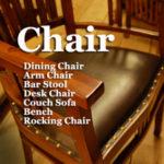 椅子 チェア ダイニングチェア デスクチェア チーク無垢材 無垢材家具