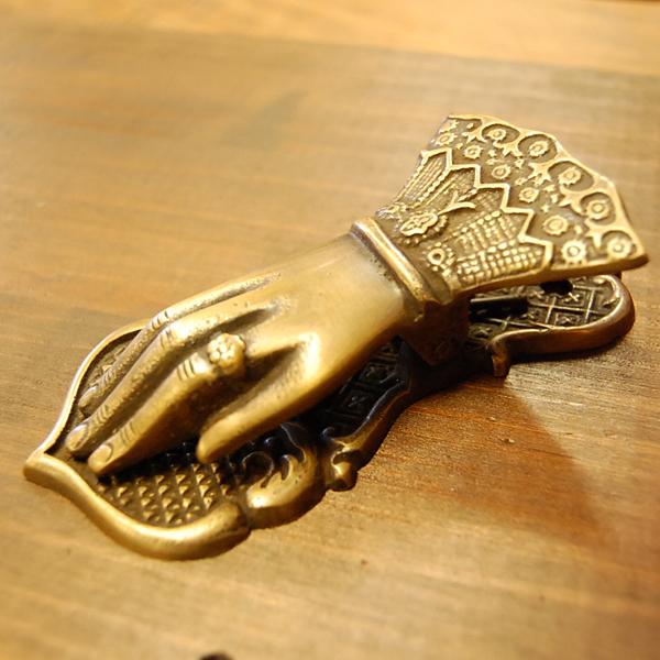真鍮クリップ ハンドクリップ ペーパーウェイト ブラス Brass