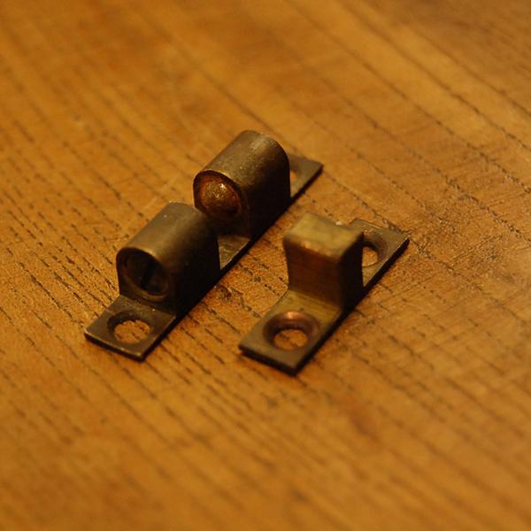 真鍮ボールキャッチ ドア金具 扉金具 ブラス Brass