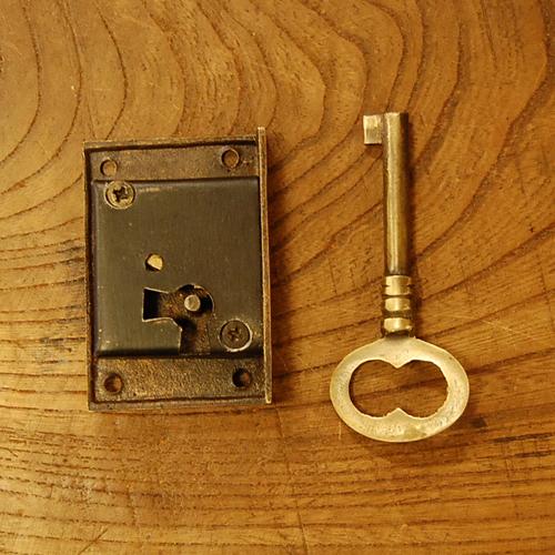 真鍮鍵セット ブラス Brass 扉金具