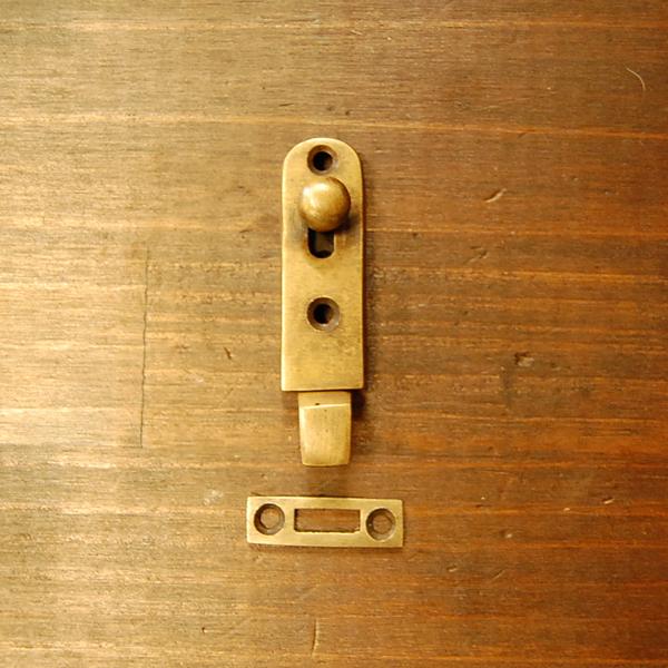 真鍮フランス落とし ブラス Brass 金具 扉金具