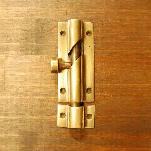 真鍮フランス落とし 扉留め金具 ブラス Brass