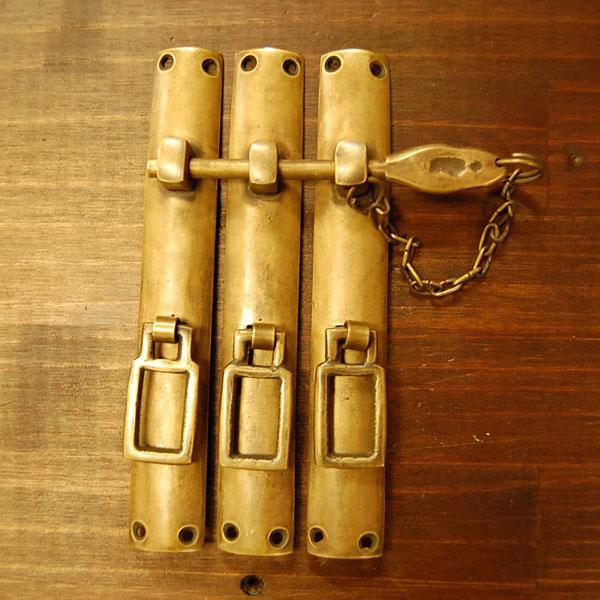 ブラス扉金具 真鍮 錠前