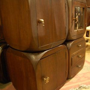 チーク無垢材家具 無垢材 ブラス 真鍮 取手