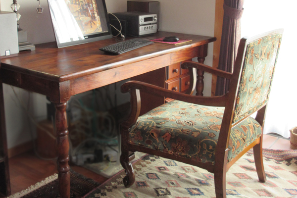フランスアンティークリメイク家具 椅子 チェア 使用事例