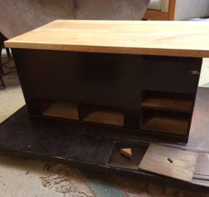火鉢 加工 アレンジ テーブル 収納ボックス