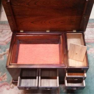火鉢 加工 アレンジ テーブル 収納BOX