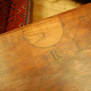 チーク無垢材 古材 ヴィンテージシェルフ 棚 インド
