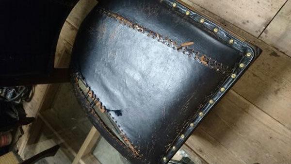 椅子修理 座面張替え 加工 牛革 リペア リメイク