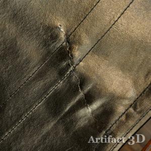 折ロッキングチェア USED leathre やぶれ 修繕 リペア メンテナンス 革 修理 裏打ち 裏張り