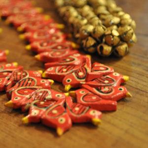 インド土産 鳥 真鍮鈴