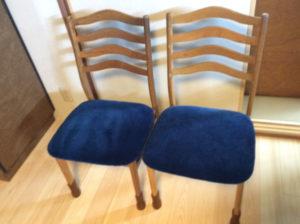 椅子修理 張替 モケット生地