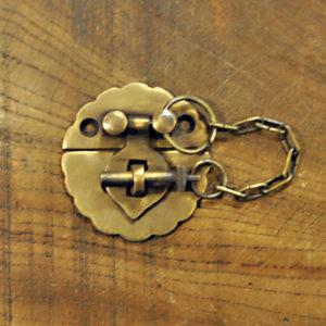 真鍮 ブラス 錠前 扉金具