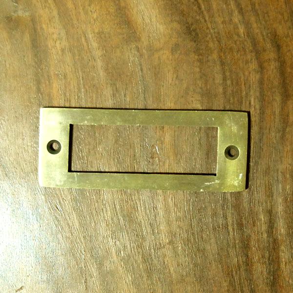 真鍮プレート ネームプレート 部品 家具 引き出し 名前